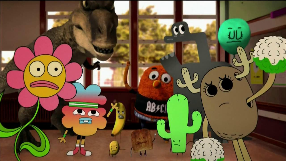 the amazing world of gumball the mystery dvd tv commercial