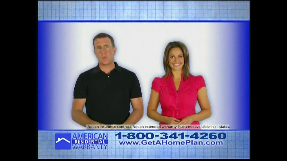 American residential warranty tv commercial 39 did you know for Www get a home plan com