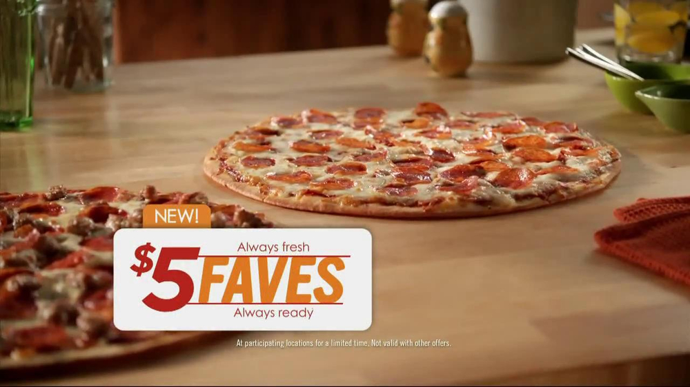Papa Murphy's $5 Faves Pizza TV Spot  - Screenshot 3