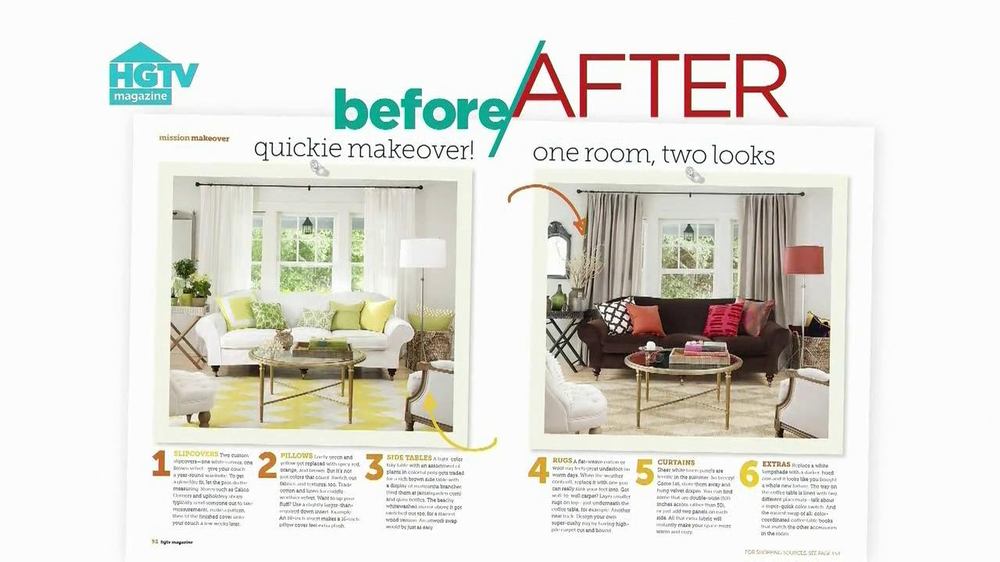 HGTV Magazine TV Spot 'Free Trial'  - Screenshot 4