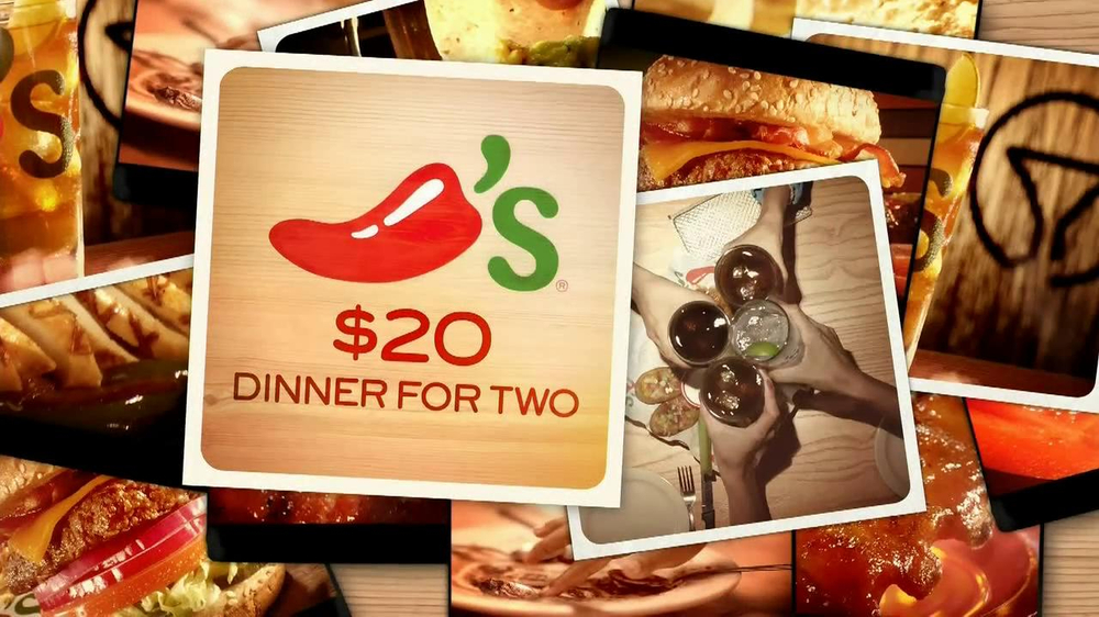 Chili's $20 Dinner for Two TV Spot, Song by Wendy Rene - Screenshot 8