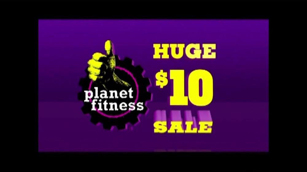 Planet Fitness Huge $10 Sale TV Spot - Screenshot 8