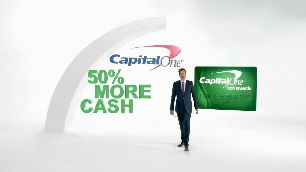 Capital One Cash Rewards Card TV Spot, 'No' Featuring Jimmy Fallon - Screenshot 1