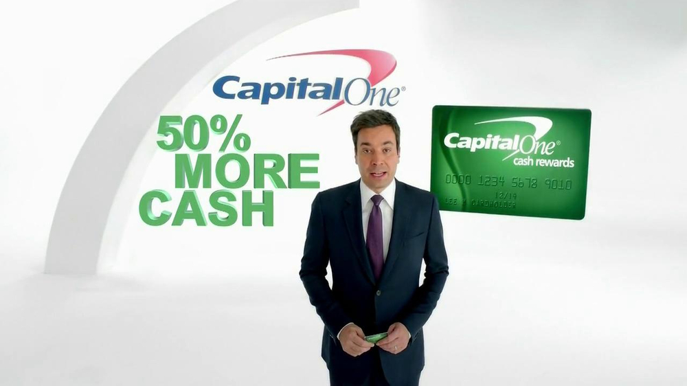 Capital One Cash Rewards Card TV Spot, 'No' Featuring Jimmy Fallon - Screenshot 2