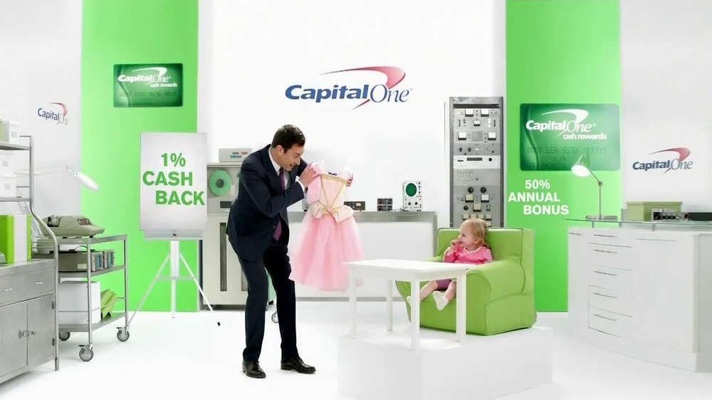 Capital One Cash Rewards Card TV Spot, 'No' Featuring Jimmy Fallon - Screenshot 3