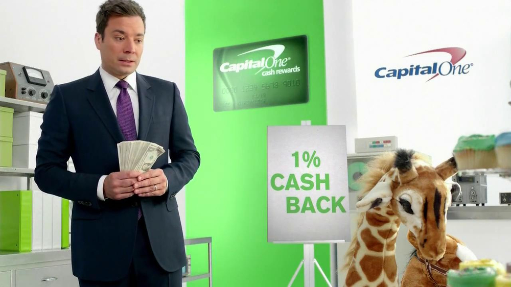 Capital One Cash Rewards Card TV Spot, 'No' Featuring Jimmy Fallon - Screenshot 5