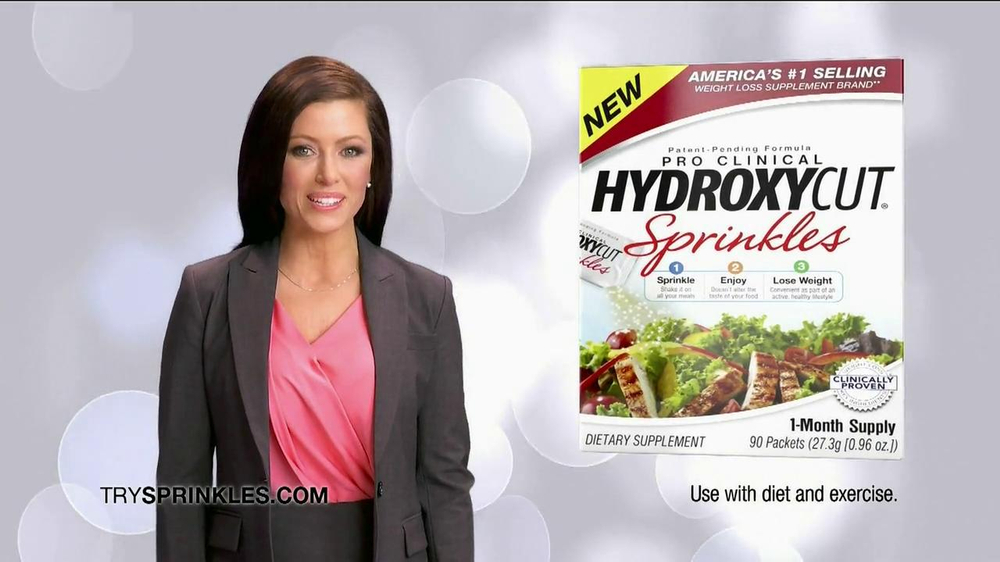 Hydroxy Cut Sprinkles TV Spot, 'Powerful Weight Loss' - Screenshot 3