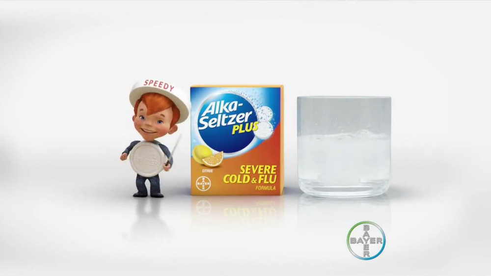 Alka-Seltzer Severe Cold and Flu TV Spot, 'Cold Truth: Flu Cough' - Screenshot 9