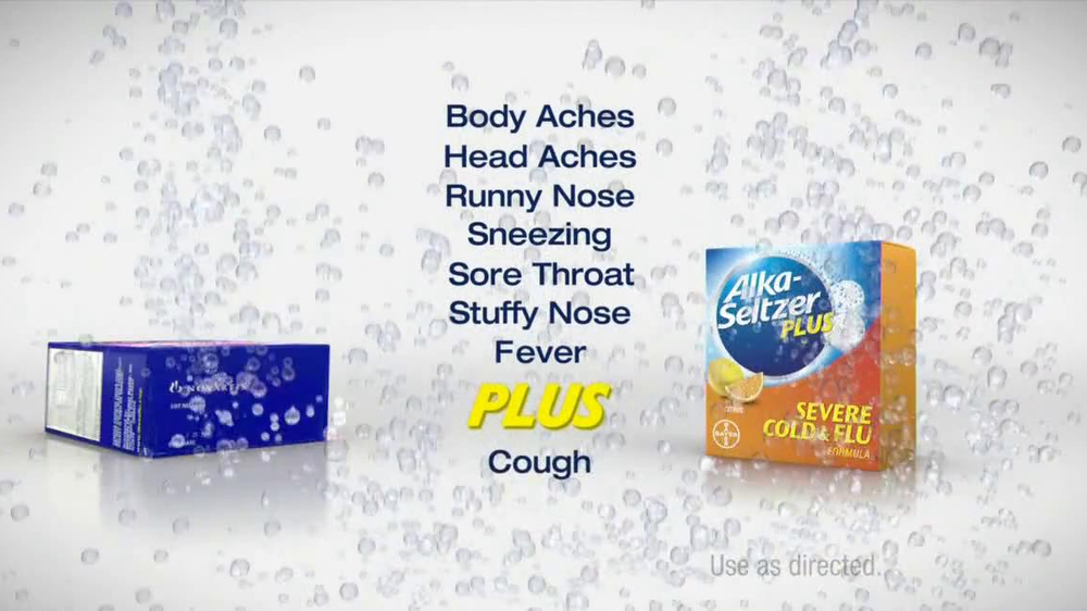 Alka-Seltzer Severe Cold and Flu TV Spot, 'Cold Truth: Flu Cough' - Screenshot 6