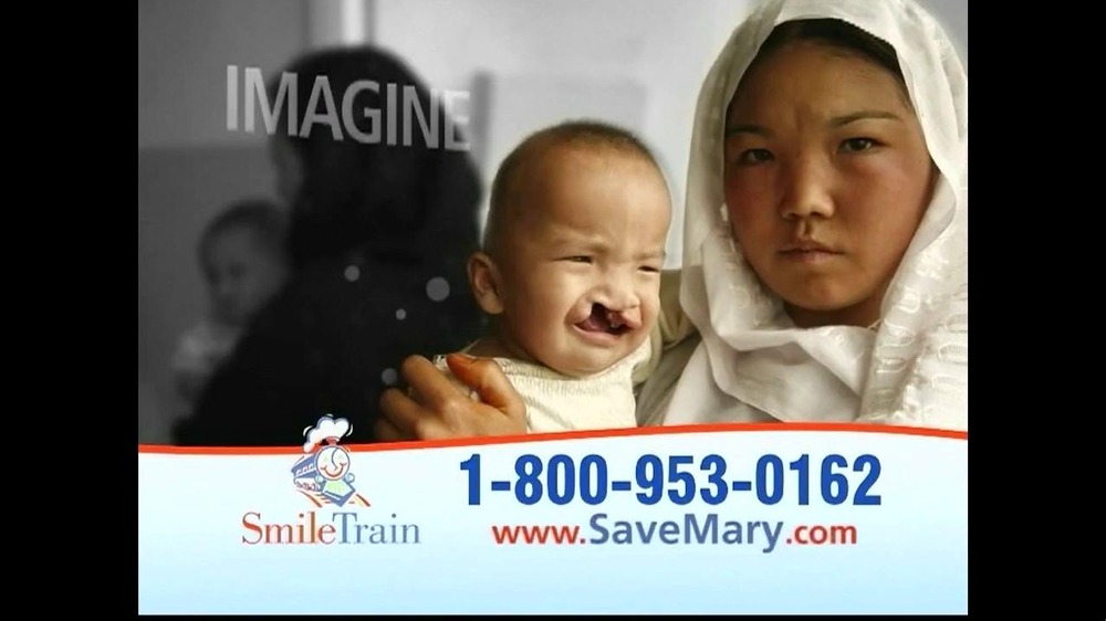 Smile Train TV Spot, 'Save Mary' - Screenshot 1