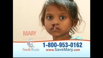 Smile Train TV Spot, 'Save Mary' - Thumbnail 6