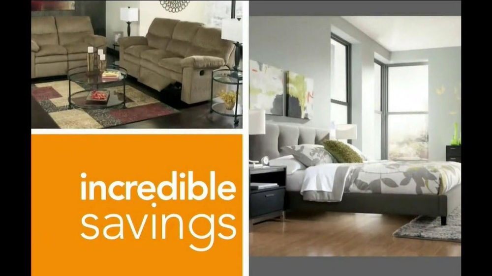 Ashley Furniture Homestore National Sale and Clearance  TV Spot  - Screenshot 2