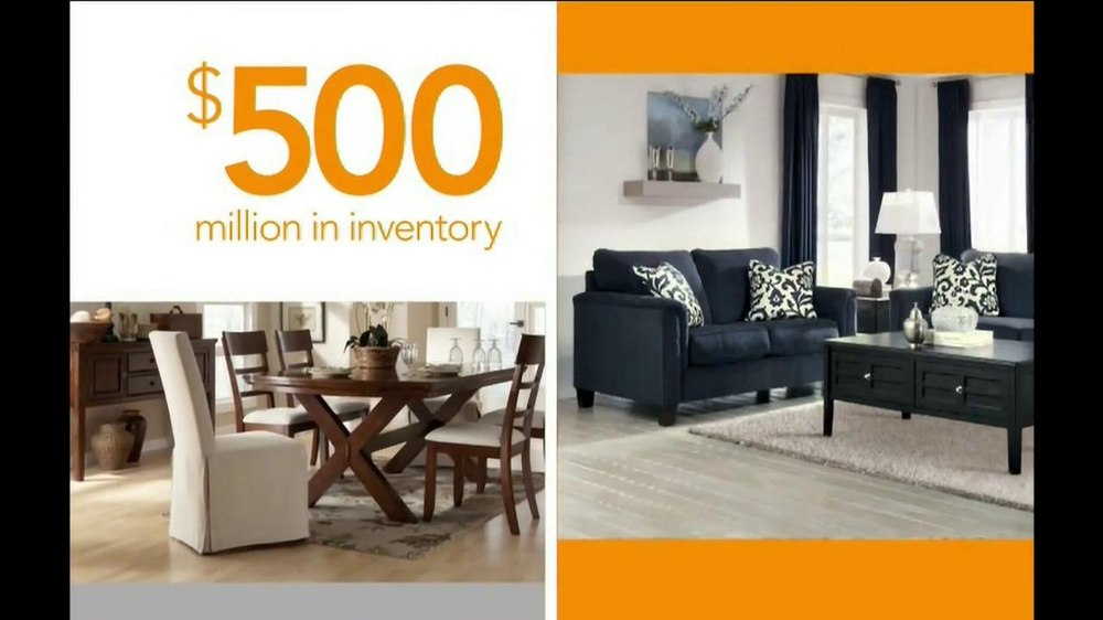 Ashley Furniture Homestore National Sale and Clearance  TV Spot  - Screenshot 4
