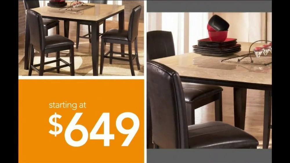 Ashley Furniture Homestore National Sale and Clearance  TV Spot  - Screenshot 6