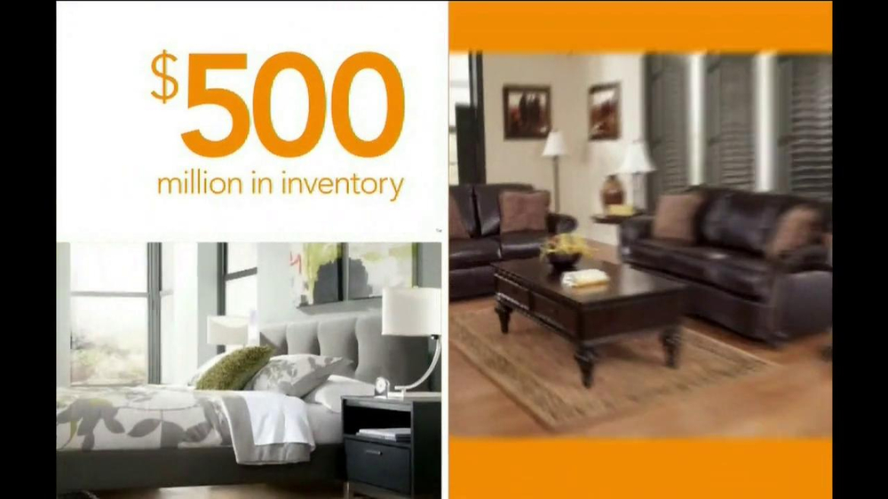 Ashley Furniture Homestore National Sale and Clearance  TV Spot  - Screenshot 7