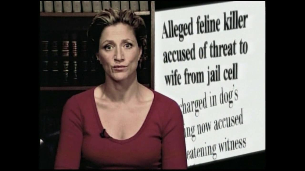 PETA TV Spot Featuring Edie Fallco - 45 commercial airings
