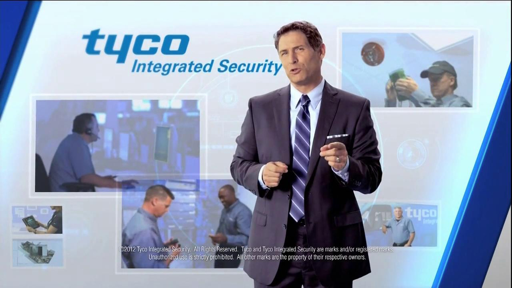 Tyco Integrated Security TV Spot Featuring Steve Young - Screenshot 9