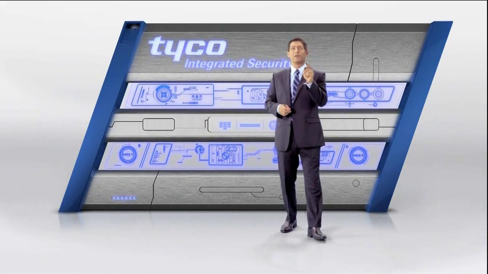 Tyco Integrated Security TV Spot Featuring Steve Young - Screenshot 2