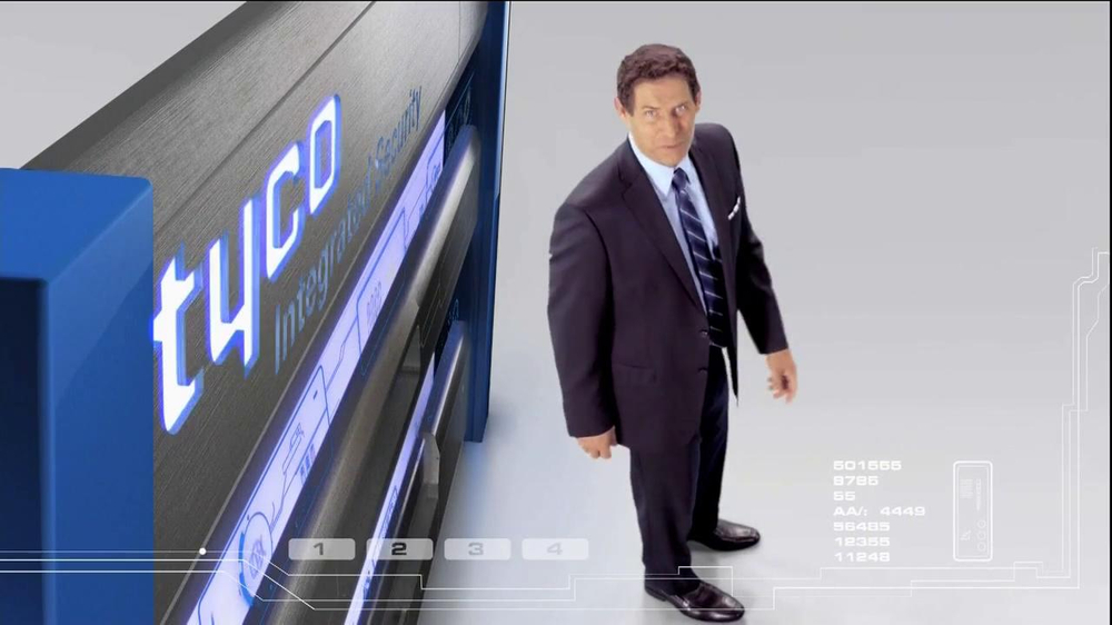 Tyco Integrated Security TV Spot Featuring Steve Young - Screenshot 3