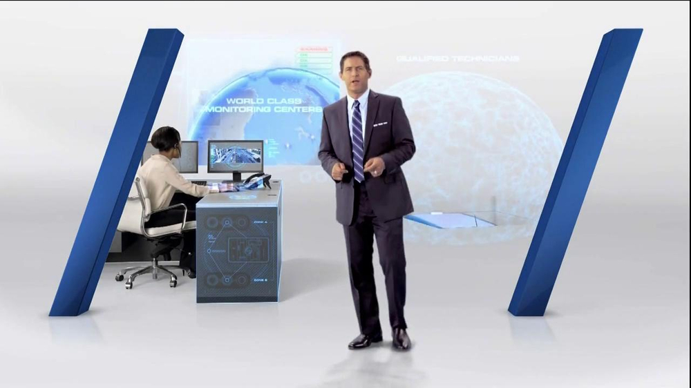 Tyco Integrated Security TV Spot Featuring Steve Young - Screenshot 4