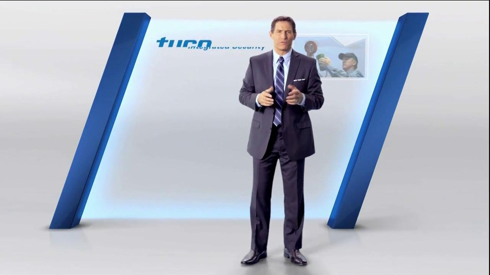 Tyco Integrated Security TV Spot Featuring Steve Young - Screenshot 7