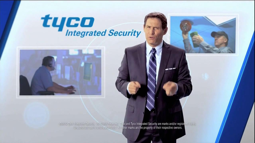 Tyco Integrated Security TV Spot Featuring Steve Young - Screenshot 8