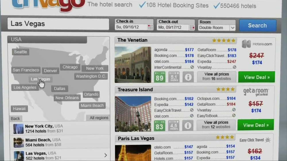 Trivago TV Spot, 'Same Hotel, Two Prices' - Screenshot 9
