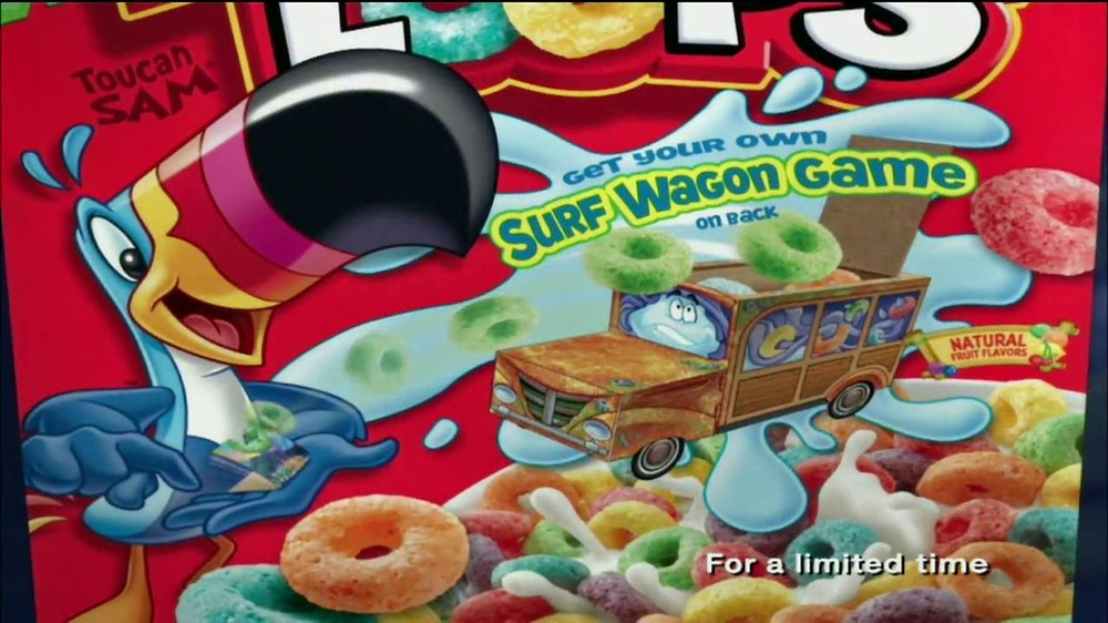 Fruit Loops TV Spot, 'Surf Wagon Game' - Screenshot 10