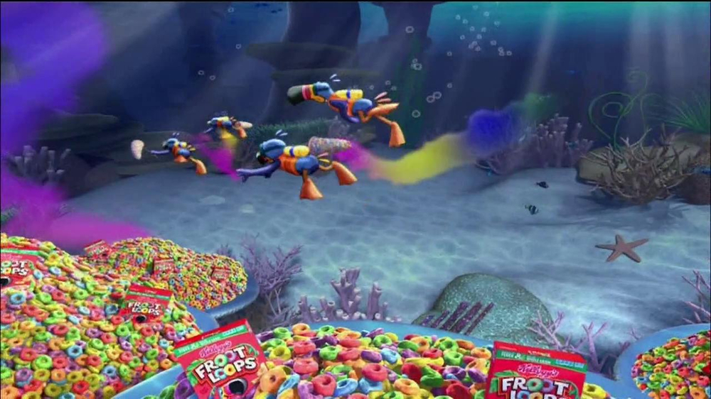 Fruit Loops TV Spot, 'Surf Wagon Game' - Screenshot 6