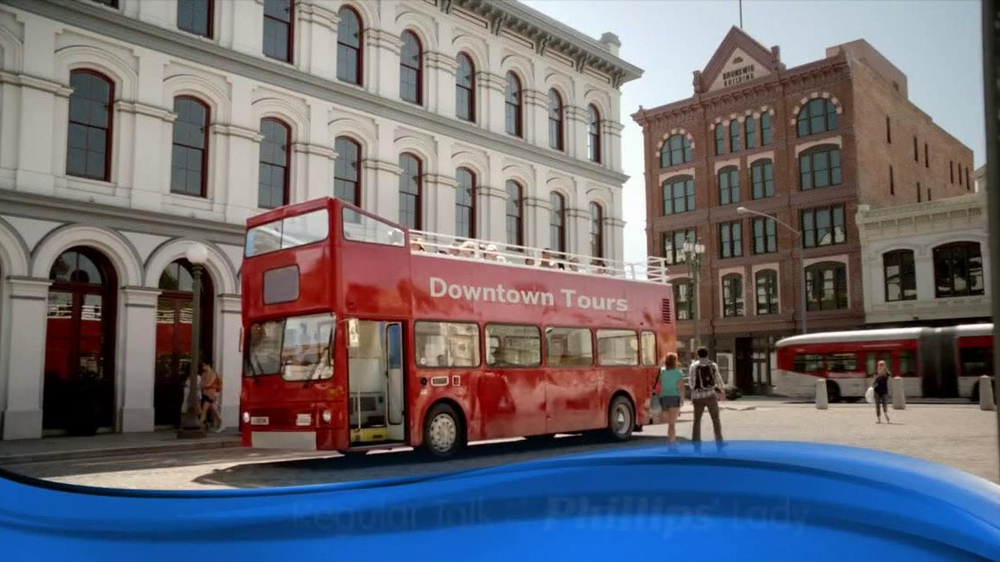 Phillips Colon Health TV Spot, 'Double Decker Bus' - 9303 commercial airings