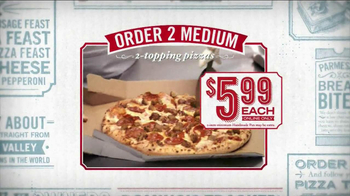 Domino's Medium Two-Topping Pizza TV Spot, '5 Dominos Dollars' - Thumbnail 2