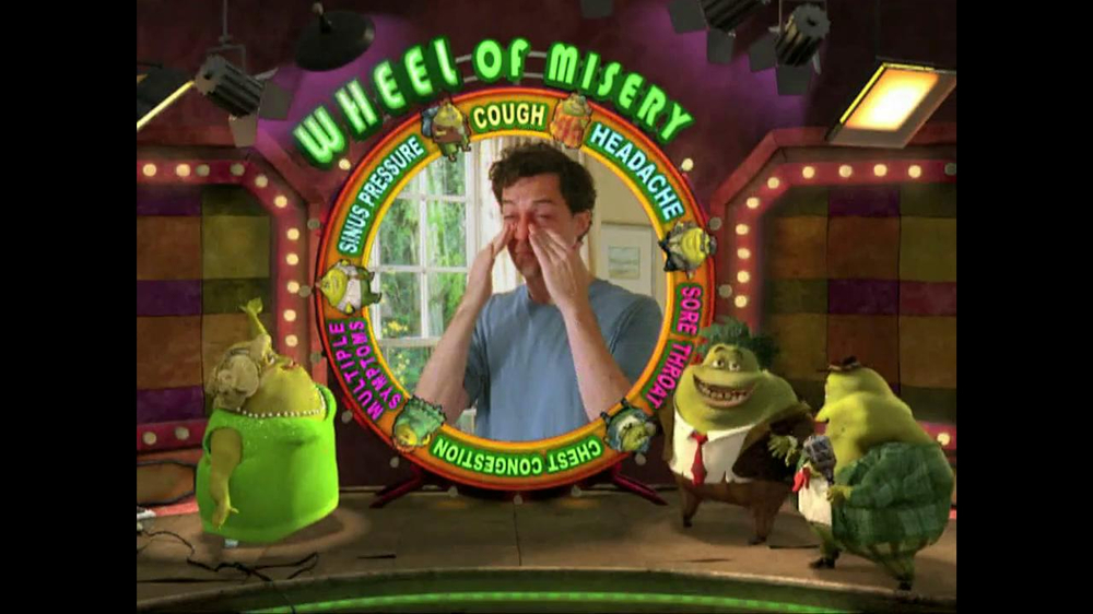 Mucinex Tv Spot Wheel Of Misery Ispot Tv