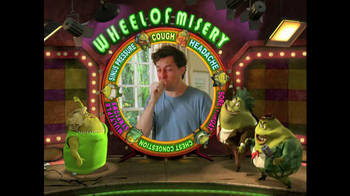Mucinex TV Spot, 'Wheel of Misery' thumbnail