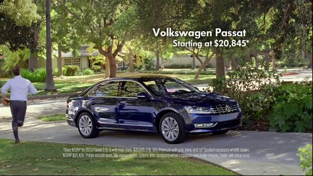 Volkswagen Passat TV Spot, 'Playing Catch' - Screenshot 9