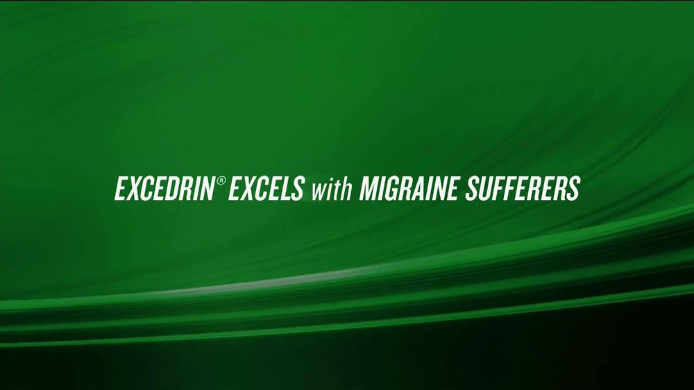Excedrin TV Spot , 'Excedrine Excels' - Screenshot 1