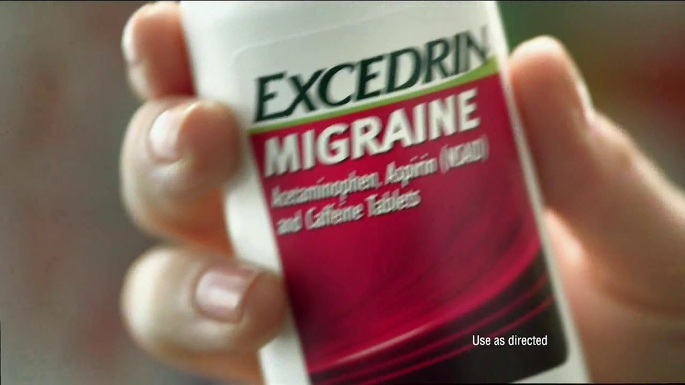 Excedrin TV Spot , 'Excedrine Excels' - Screenshot 4