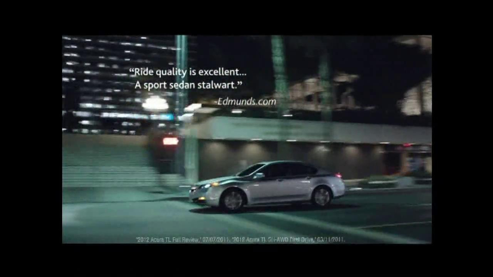 2013 Acura TL TV Spot, 'Advice' - Screenshot 7