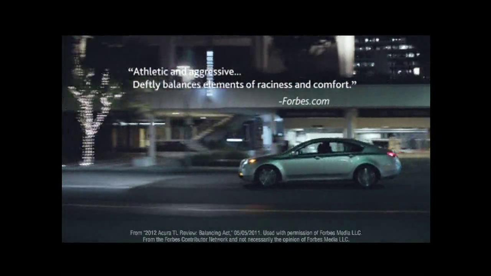 2013 Acura TL TV Spot, 'Advice' - Screenshot 8