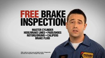 Meineke Car Care Centers TV Spot, 'Free Brake Inspection' - Thumbnail 3