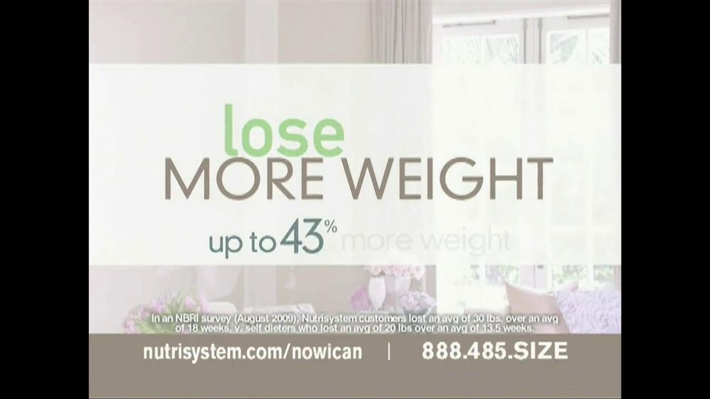 Nutrisystem Success TV Spot Featuring Jillian Barberie - Screenshot 3