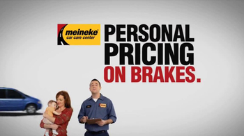 Meineke Car Care Centers TV Spot, 'Personal Pricing'