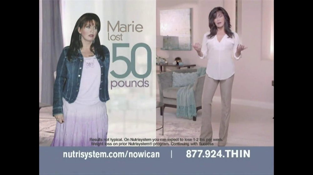 Nutrisystem TV Spot Featuring Marie Osmond - Screenshot 1