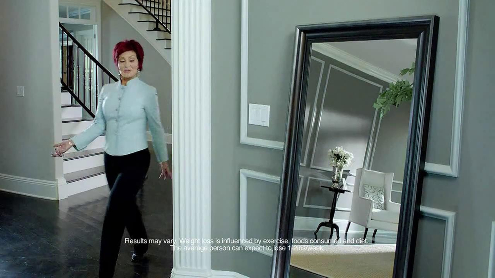 Atkins TV Spot Featuring Sharon Osbourne - Screenshot 1