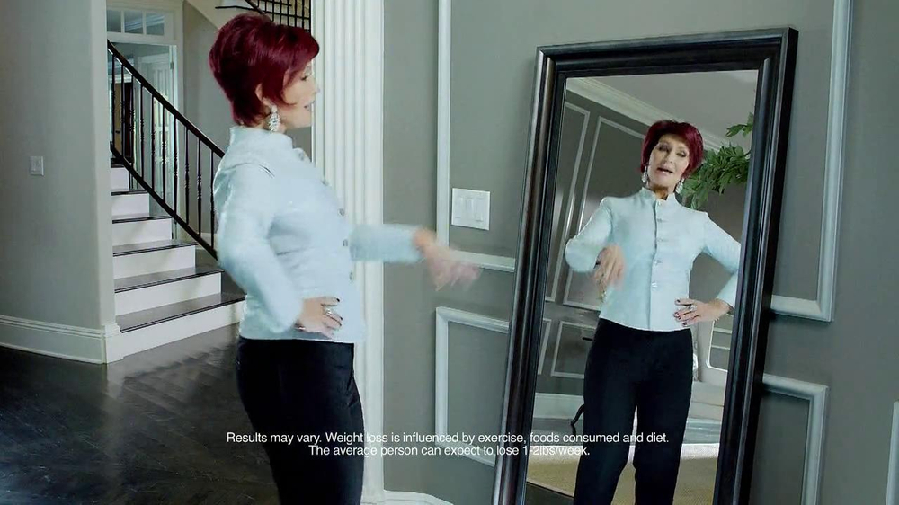 Atkins TV Spot Featuring Sharon Osbourne - Screenshot 2