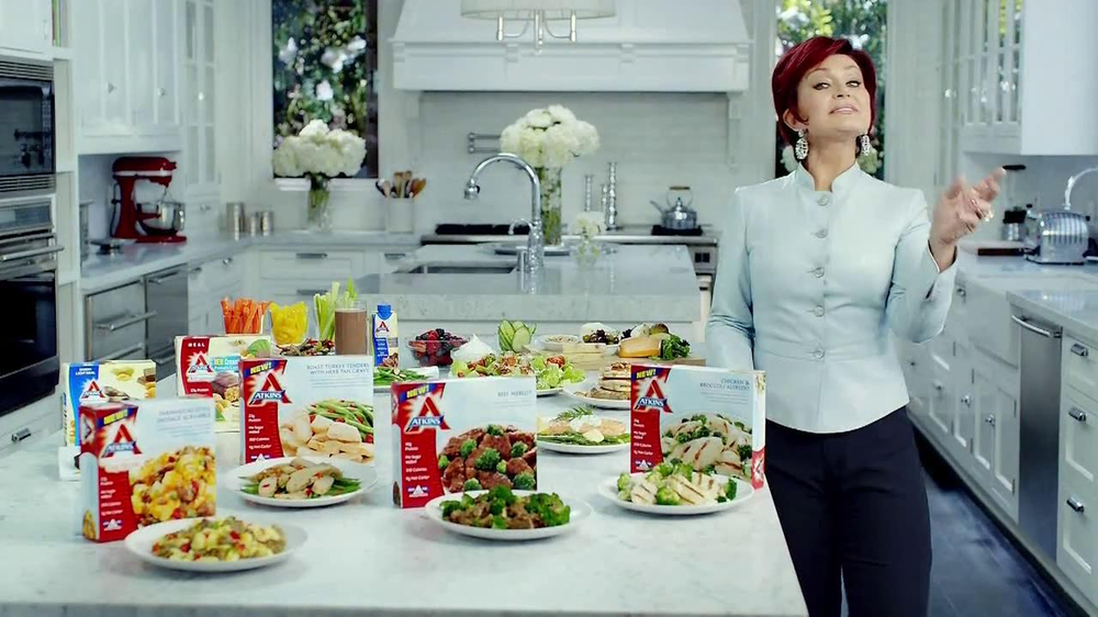 Atkins TV Spot Featuring Sharon Osbourne - Screenshot 4