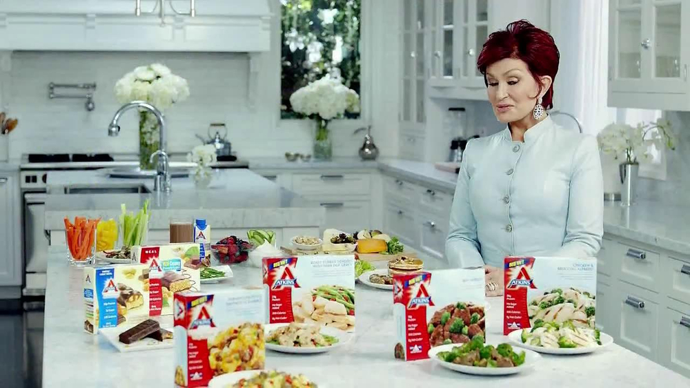 Atkins TV Spot Featuring Sharon Osbourne - Screenshot 8