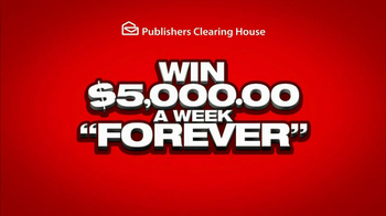 Publishers Clearinghouse TV Spot, '$5000 a Week'