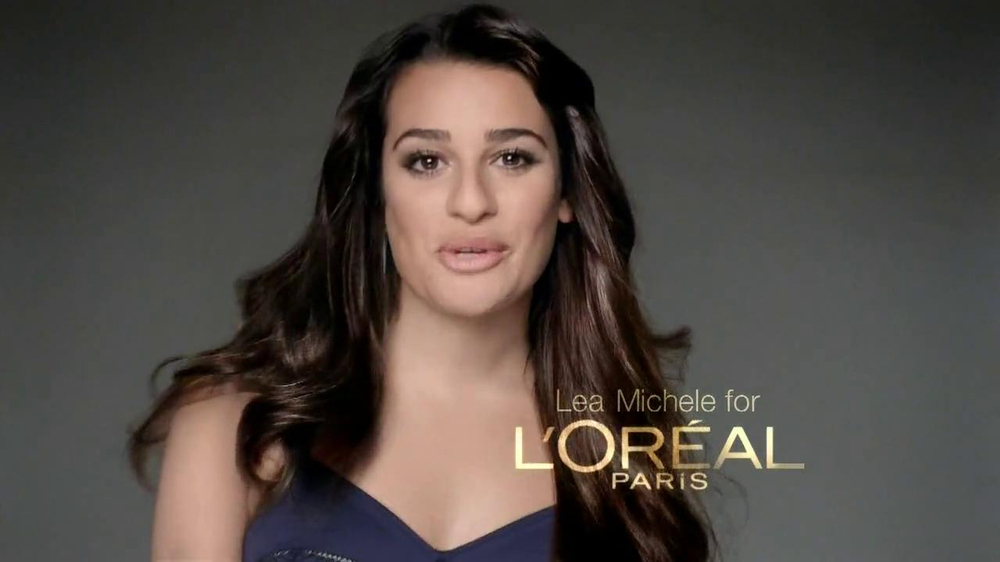 Loreal Total Repair 5 TV Spot Featuring Lea Michele - Screenshot 1