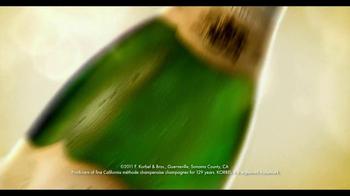 Korbel TV Spot, 'Toast Life' - Thumbnail 1