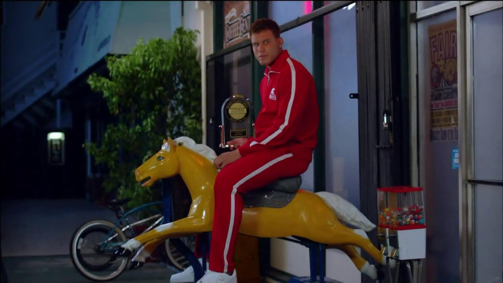 Blake Griffin Commercial Time Travel